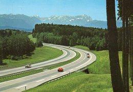 BRD - BY:  Autobahn München - Garmisch - Cartes Postales