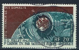 French Somali Coast, Satellite, 1963, VFU Airmail - Used Stamps