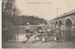 C. P. A.- LES BORDS DU LOIRET - LE PONT D'OLIVET - ANIMEE - - France