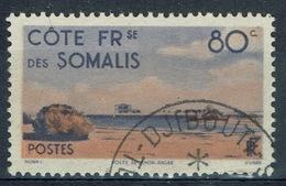 French Somali Coast, 80c., Khor-Angar, 1947, VFU - Used Stamps