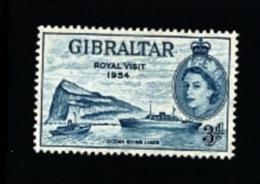 GIBRALTAR - 1954  ROYAL VISIT  MINT NH - Gibilterra