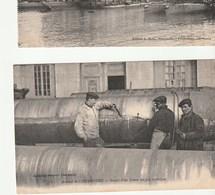 Cherbourg  ( Manche ) Arsenal , Sciage D'un Canon , Ouvriers Au Travail , Gros Plan - Cherbourg
