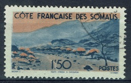 French Somali Coast, 1f.50, Road From Obock To Tadjourah, 1947, VFU - Used Stamps
