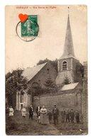03456-LE-62-BARALLE-Une Entrée De L' Eglise-------------animée - France