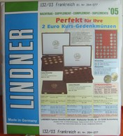 Lindner - Jeu FRANCE 2005 - Albums & Binders