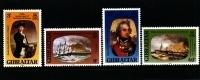GIBRALTAR - 1980  NELSON  SET MINT NH - Gibilterra