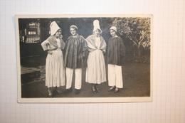 CPA COMBOURG ? Fête Des Fleurs    Carte Photo Nom + Date Au Dos 1931 - Combourg