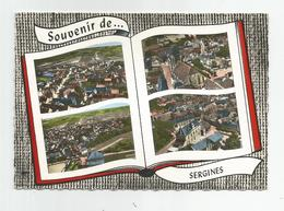 89 Yonne Sergines Multi Vues Ed Lapie - Sergines