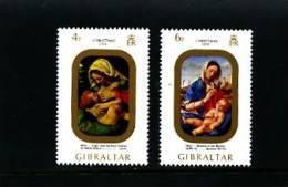 GIBRALTAR - 1974  CHRISTMAS  SET  MINT NH - Gibilterra