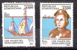 República Dominicana Serie Completa N ºYvert 1088A/88B ** BARCOS (SHIPS) Valor Catálogo 10.0€ - Dominican Republic