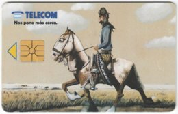 ARGENTINIA A-367 Chip Telecom - Painting, Traditional Life - Used - Argentina