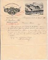 1901 - MEUNG-sur-LOIRE - TANNERIE & CORROIERIE - F. LANDRON & Fils - Historical Documents