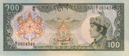 Bhutan 100 Ngultrum, P-18a (1986) - UNC - Bhutan