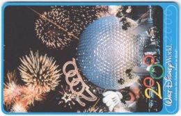 ARGENTINIA A-397 Chip Telefonica - Advertising, Walt Disney World - Used - Argentina