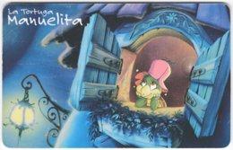 ARGENTINIA A-406 Chip Telefonica - Cartoon, Animal, Turtle - Used - Argentina