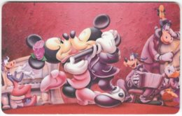 ARGENTINIA A-408 Chip Telefonica - Walt Disney, Mouse Family - Used - Argentine