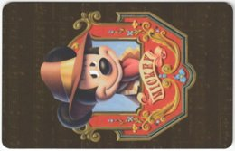 ARGENTINIA A-409 Chip Telefonica - Walt Disney, Mouse Family - Used - Argentine