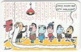 ARGENTINIA A-412 Chip Telefonica - Cartoon, Communication, Telephone - Used - Argentina