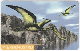 ARGENTINIA A-414 Chip Telefonica - Prehistoric Animal, Dinosaur - Used - Argentine
