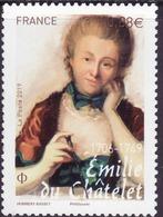 FRANCE 2019 YT 5294 Emilie Du Chatelet  1706 - 1749 - Frankreich