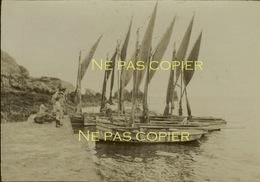 BELLE-ÎLE-EN-MER Bateaux De Pêche Pêcheurs Vers 1900 Morbihan 56 Bretagne - Lieux