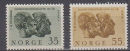 Norway 1964 Osloer Gelehrrten-Gesellschaft 2v ** Mnh (45306B) - Noorwegen