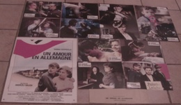 AFFICHE CINEMA ORIGINALE FILM UN AMOUR EN ALLEMAGNE + 12 PHOTOS EXPLOITATION SCHYGULLA WALDA 1983 - Affiches & Posters