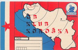 QSL Cards - , Yugoslavia, Slovenije - Dravograd - Ravne - Radio Amatoriale