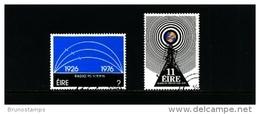 IRELAND/EIRE - 1976  IRISH BROADCASTING  SET  FINE USED - Usati