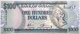 Guyana - 100 Dollars - 2009 - PICK 36b.1 - NEUF - Guyana