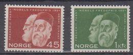 Norway 1961 Nobelpries 2v ** Mnh (45306E) - Noorwegen