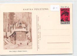 QSL Cards - Kartka Pocztowa - Polska - Lenin - Radio-amateur