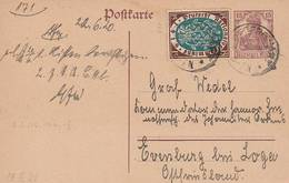 1920 - Entier Postal - Allemagne