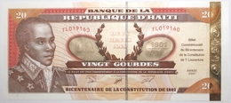 Haïti - 20 Gourdes - 2001 - PICK 271 Aa.1 - NEUF - Haiti