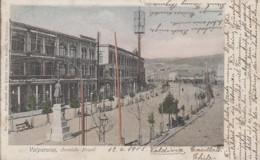 Amérique - Chile - Chili - Valparaiso - Avenida Brasil - Matasellos 1905 - Sémaphore Télégraphe - Chile