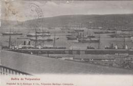 Amérique - Chile - Chili - Valparaiso - Bahia De Valparaiso - Port - Bâteaux - 1909 - Chile