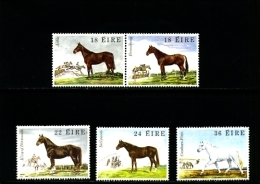 IRELAND/EIRE - 1981  FAMOUS  IRISH HORSES  SET MINT NH - 1949-... Repubblica D'Irlanda