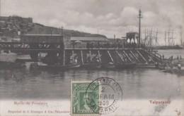 Amérique - Chile - Chili - Valparaiso - Muelle De Pasajeros - Embarcadère Bâteaux Port - 1909 - Chile