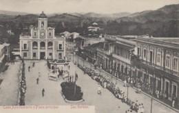Amérique - Antilles - Puerto-Rico - Porto-Rico - San German - Casa Ayuntamiento Y Plaza Principal - Puerto Rico