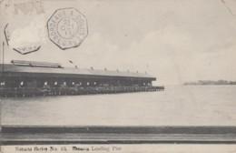 Amérique - Costa-Rica - Banana Loading Pier - Jetée D'embarquement Des Bananes - Cachet Maritime Bordeaux à Colon 1911 - Costa Rica