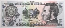 Honduras - 5 Lempiras - 2012 - PICK 98a - NEUF - Honduras