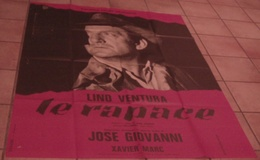 AFFICHE CINEMA ORIGINALE FILM LE RAPACE Lino VENTURA José GIOVANNI 1968 - Posters