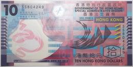 Hong Kong - 10 Dollars - 2012 - PICK 401c - NEUF - Hong Kong