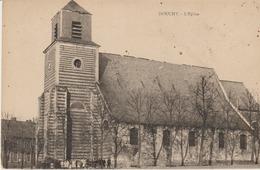 C. P. A.- DOUCHY - L'EGLISE - - Otros Municipios