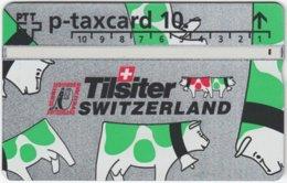 SWITZERLAND C-653 Hologram Private - Cartoon, Animal, Cow - 406L - Used - Schweiz