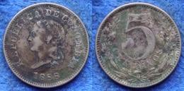 COLOMBIA - 5 Centavos 1888 KM# 183.2 Republic America - Edelweiss Coins - Kolumbien