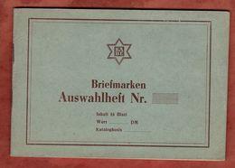 KABE Auswahlheft, Auf 10 Seiten Marken, Entwertet, Inhalt: Siehe Abbildungen (82486) - Briefmarken