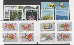 LOT 265 WALLIS ET FUTUNA N°792à799-800-787-810-825 ** FACIALE - Wallis Und Futuna