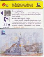 THAILAND(chip) - Phrathat Srisongrak Temple, Lenso Telecard 250 Baht, No Exp.date, Used - Paesaggi