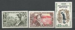 FRANCE ANNEE 1960 N° 1246 1247 1253 NEUFS** NMH - Ongebruikt
